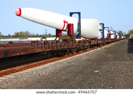 Wind turbine blade.