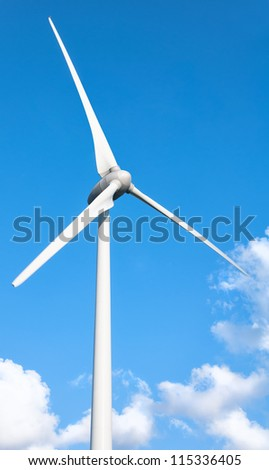 Wind Turbine , Fuel and Power Generation