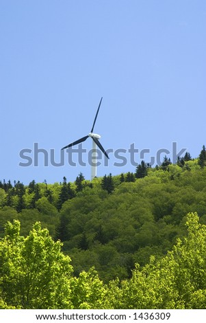 Wind Turbine  Searsburg Vermont