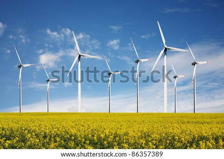 Wind Turbines - alternative  energy source