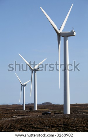 Wind turbines, Isle of Lewis, Outer Hebrides