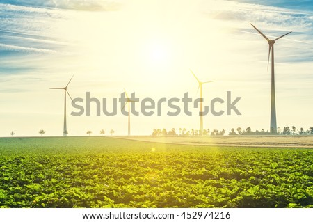 Wind Turbines - renewable energy sources