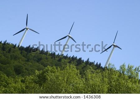Wind Turbines Searsburg Vermont