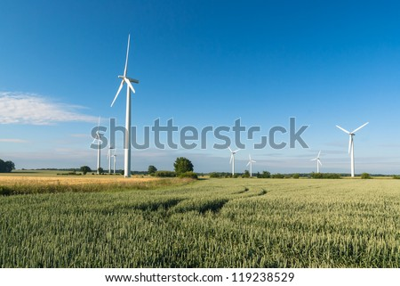 Windfarm in Germany