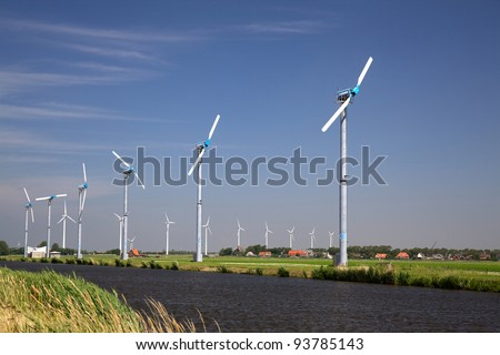Windfarm in The Netherlands