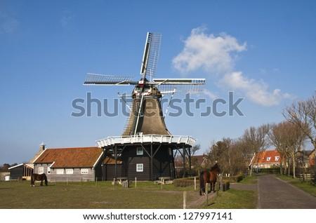 windmill Stock foto ©