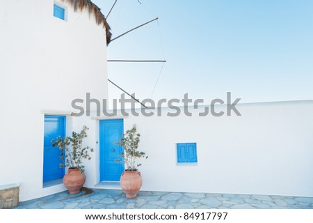 Windmill at Mykonos