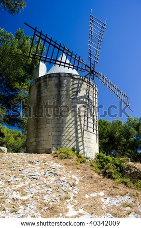 windmill, Barbentane, Provence, France