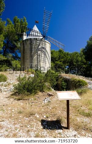 windmill, Barbentane, Provence, France