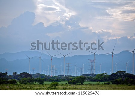 Windmill, electricity