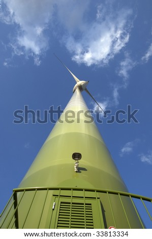 windmill in central germany