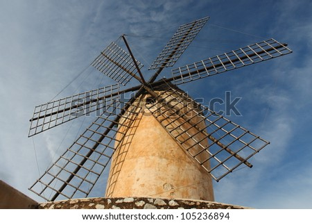 Windmill in Mallorca
