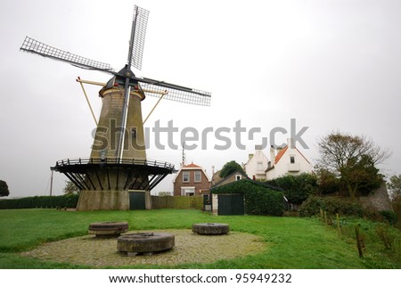 windmill in Zierikzee/Netherlands