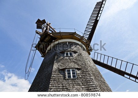 Windmill on the island of Usedom