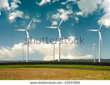 Windmills - alternative energy
