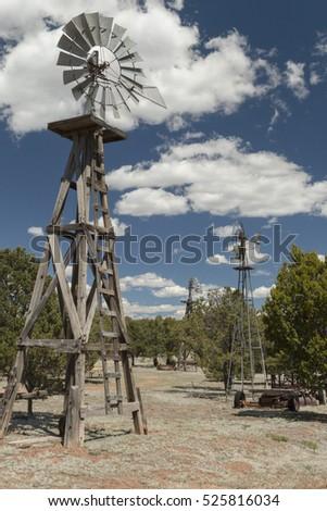 windmills near pietown  new...
