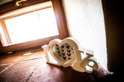 Windov lighning LOVE sign
