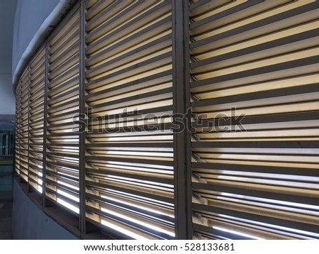 Window blind. #528133681