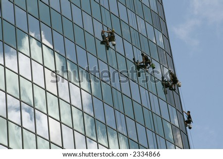 ez window cleaning milwaukee window cleaning team on buiding ez canvas