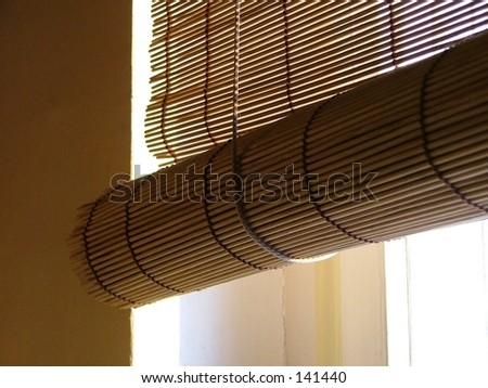 window cover - stock photo