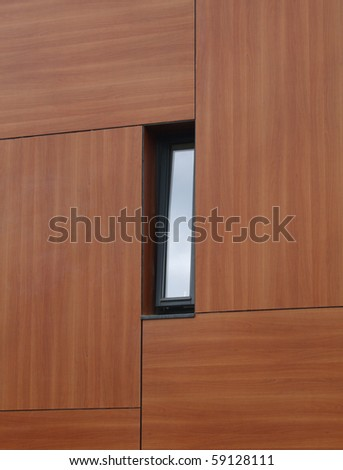 Window in contemporary building