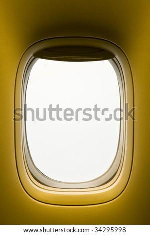 Window of an airplane