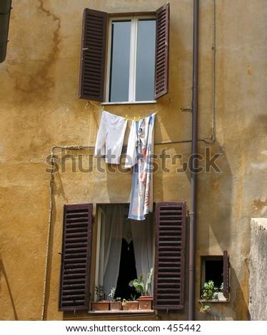 Window of an Italian house