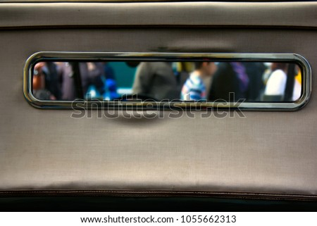window of the world. view of...
