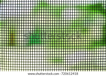 Window screen texture, closeup #720612418