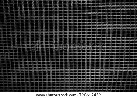 Window screen texture, closeup #720612439