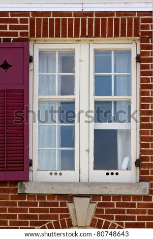 Window with one shutter