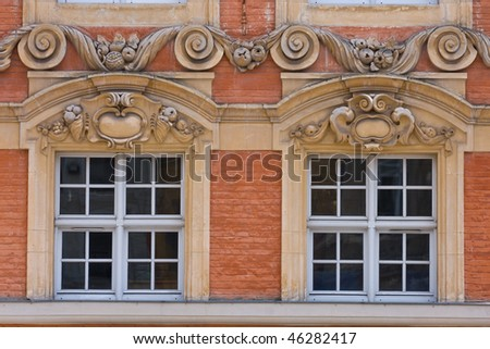 Windows in Lille, France
