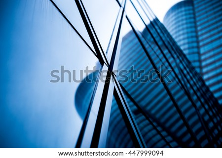 windows of business building #447999094