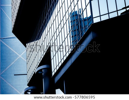 windows of business building  #577806595