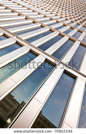 windows of office buildings, cool business background