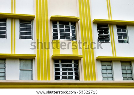 art deco buildings in miami. side of Art Deco buildings