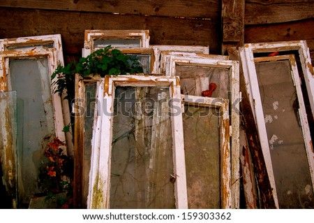 Windows on the trash
