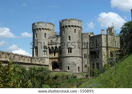 Windsor castle 3 - stock photo