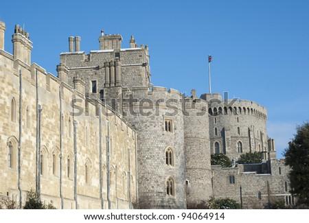windsor castle. - stock photo
