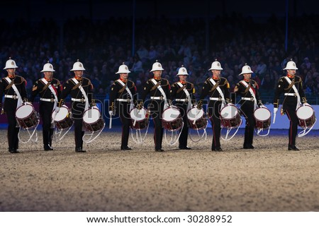 the Windsor Royal Tattoo May 13,
