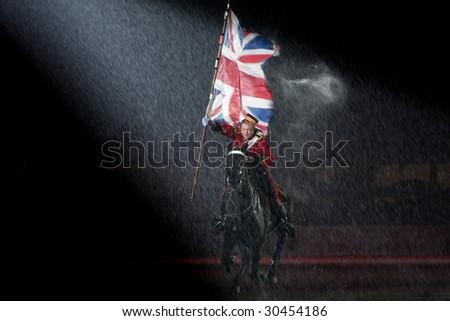 rain. soldier. strength. tattoo