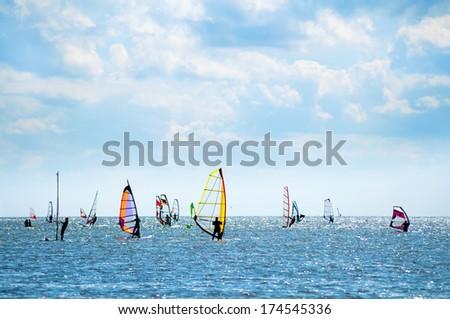 Windsurfers  #174545336