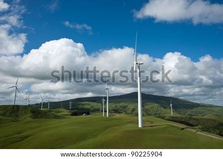 Windswept tussock plains of New Zealand's Desert Road.