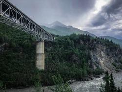 Windy Bridge - Alaska