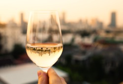 Wine and dine in the city.