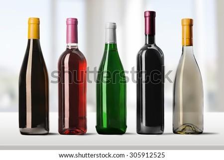 Wine Bottle. #305912525