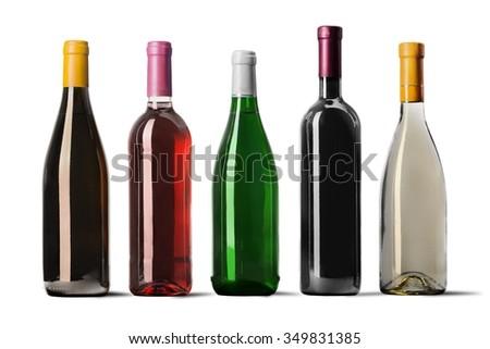 Wine Bottle. #349831385