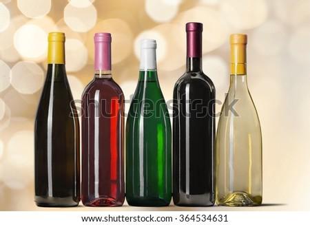 Wine Bottle. #364534631