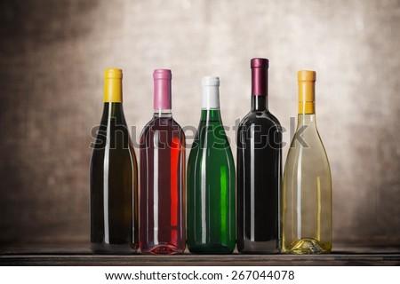Wine Bottle, Bottle, Wine. #267044078