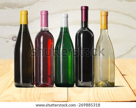 Wine Bottle, Bottle, Wine. #269885318